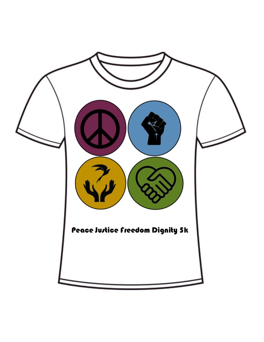 Peace Justice Freedom Dignity 5K @ Sinnissippi Park (Main Shelter) | Sterling | Illinois | United States