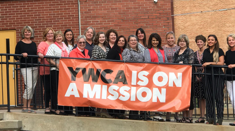 board of directors with mission banner